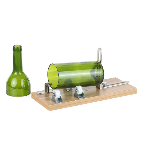 Wine Beer Glass Bottle Cutter DIY Bottle Cutting Tool Machine for Round Square Oval Bottles