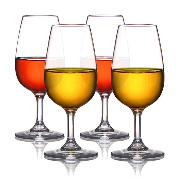 Plastic Goblet Wine Glasses Shatterproof Food-Grade Unbreakable BPA Free Reusable Wine Glass - Wines Club