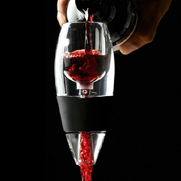 Wine Aerator Decanter ,Fast Aeration Wine Pourer - Enhance The Flavor Intensity & Texture Of Your Wine For Home Use & Party by Binspire - Wines Club