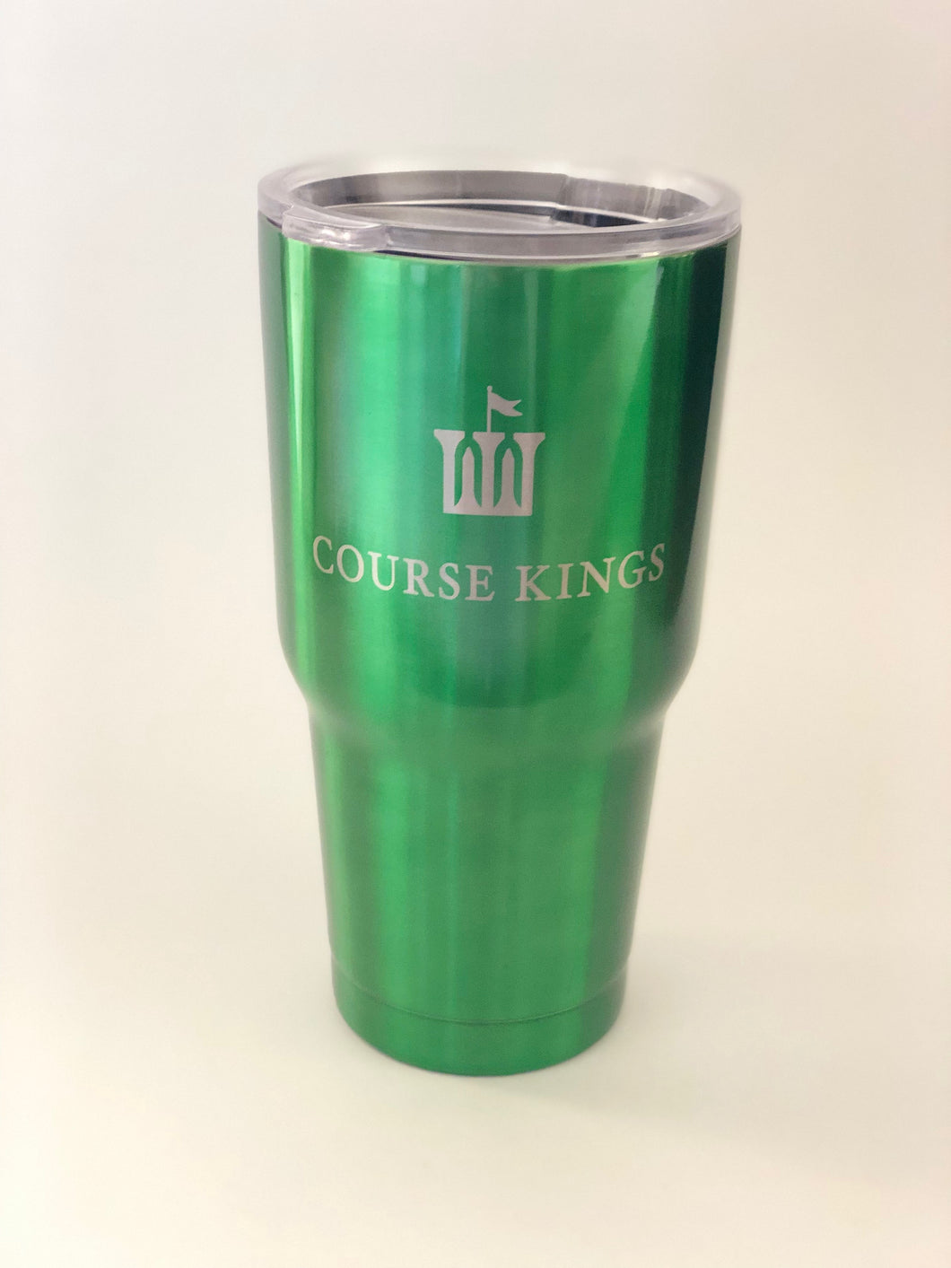 Green Course Kings Tumbler
