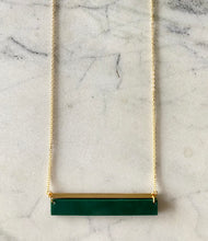 Load image into Gallery viewer, Horizon Necklace- Malachite