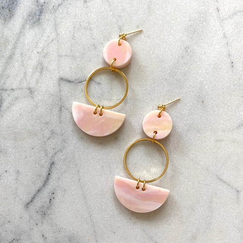 Mini Eclipse Earrings- Sorbet