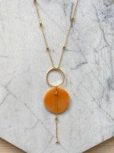 Load image into Gallery viewer, Celestial Necklace- Mango Lassi