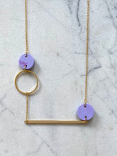 Load image into Gallery viewer, Heavenly Bodies Necklace- Periwinkle