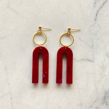 Load image into Gallery viewer, Magneto Earrings (S)- Cherry