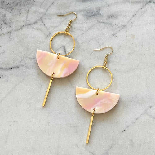 Eclipse Earrings- Sorbet