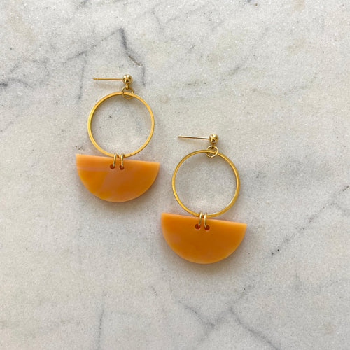 Mini Eclipse Reloaded Earrings- Mango Lassi