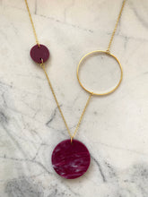 Load image into Gallery viewer, Constellation Necklace- Berry