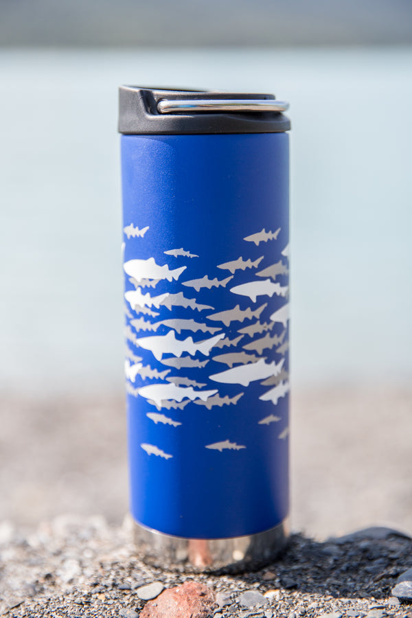 Shark Camo Insulated Coffee Kanteen