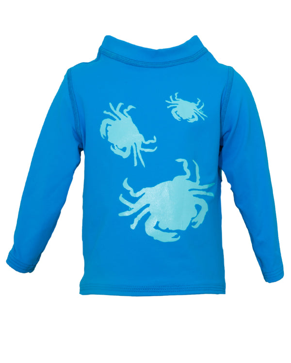 Crabs Rash Guard - prawnoapparel.com