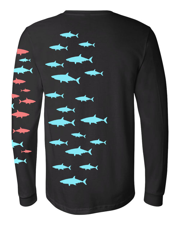 Sharkfest Organic Cotton Long Sleeve Crew