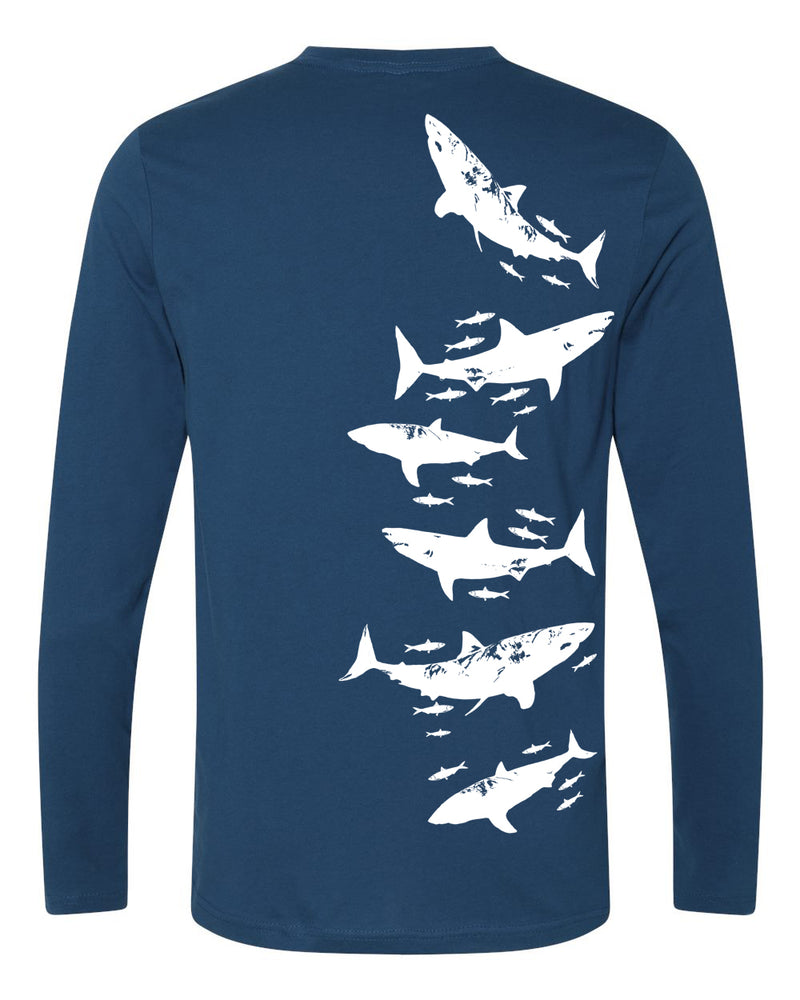 White Sharks Organic Cotton Long Sleeve Crew