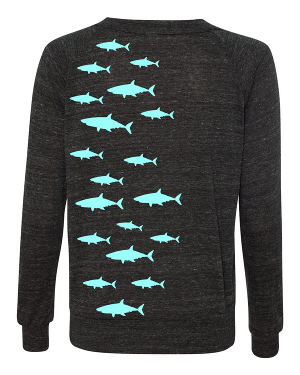 Sharkfest Eco Slouchy Sweater