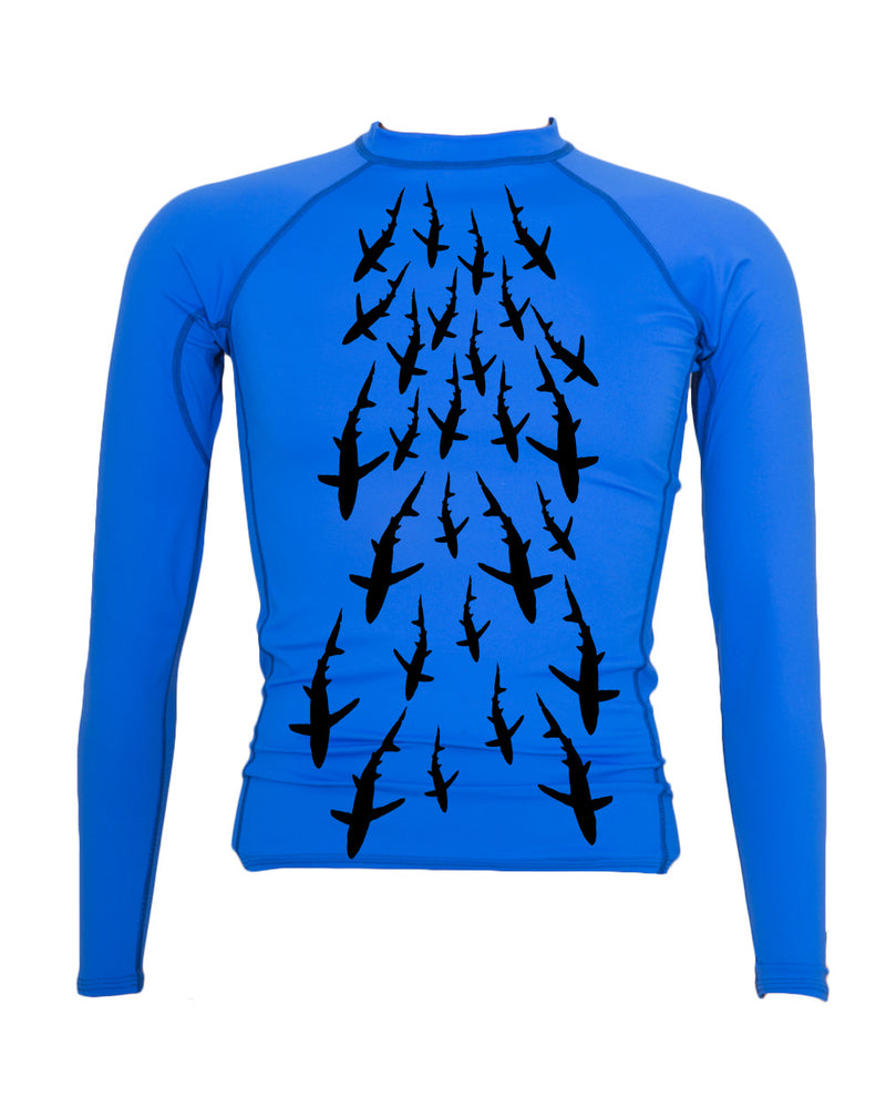 Blues Rash Guard - prawnoapparel.com