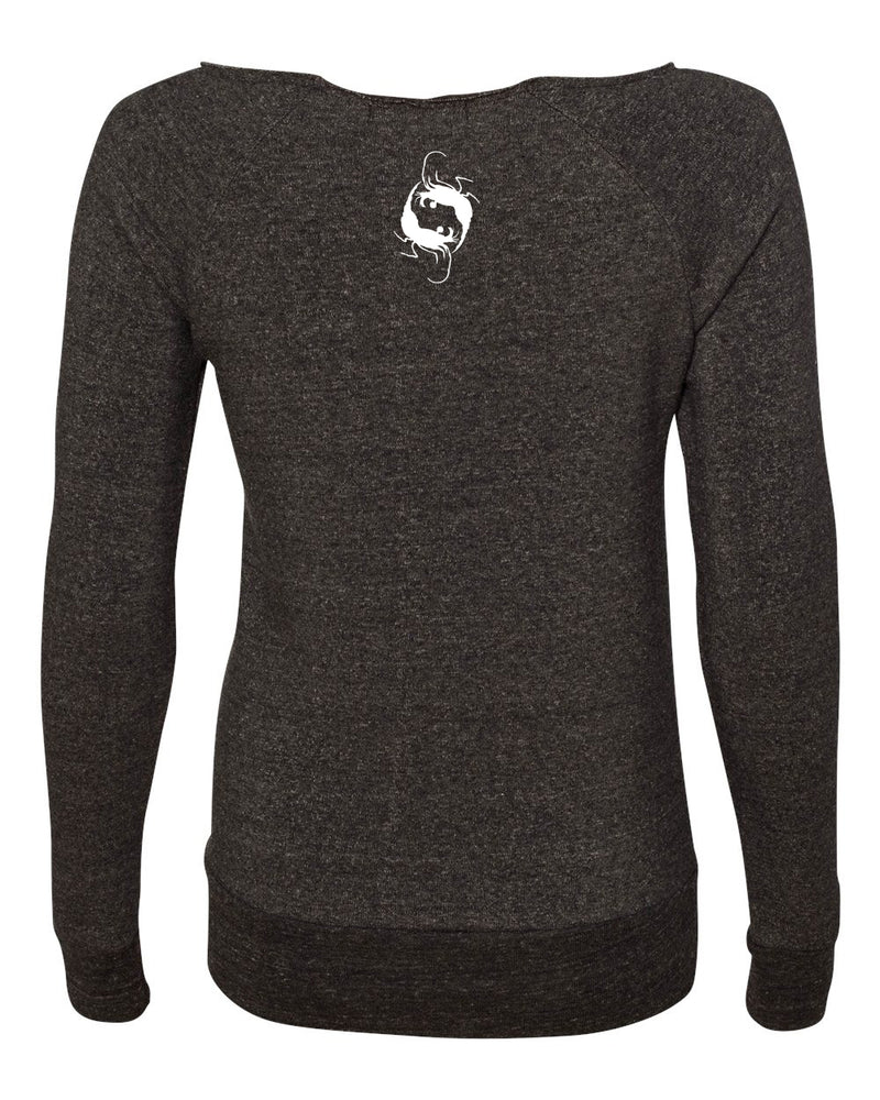 Spotted Eagles Off the Shoulder Eco Sweatshirt