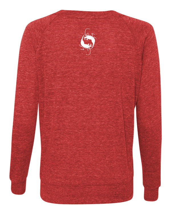 Manta Cloud Triblend Pullover Sweatshirt