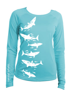 White Shark Beach & Boat Shirt