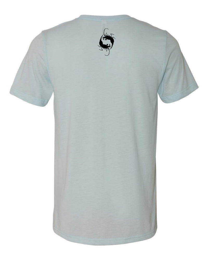 Blues Triblend Crew - prawnoapparel.com