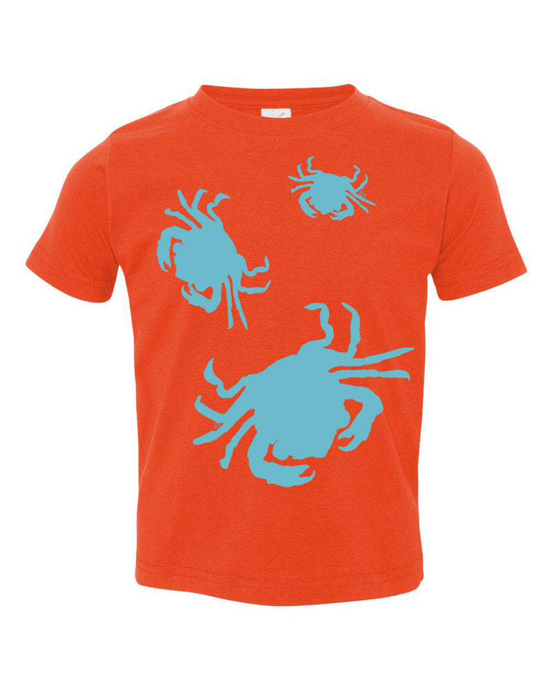 Crabs Toddler Tee - prawnoapparel.com