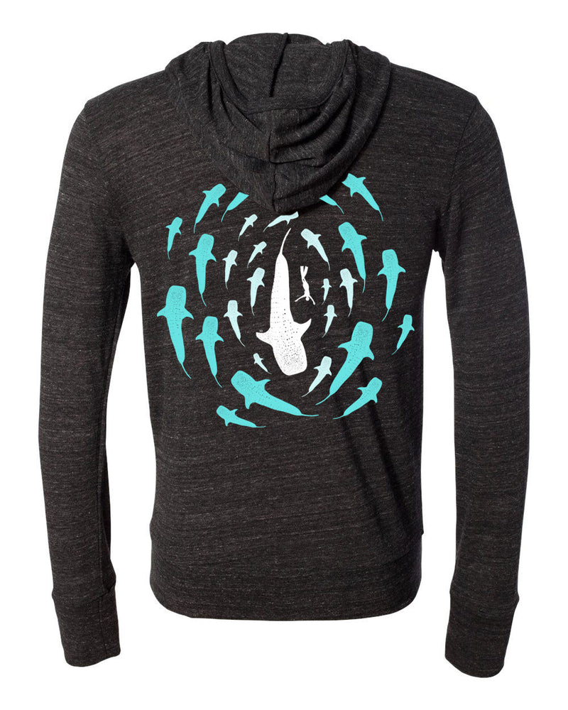 Whale Shark Eco Lightweight Zip - prawnoapparel.com