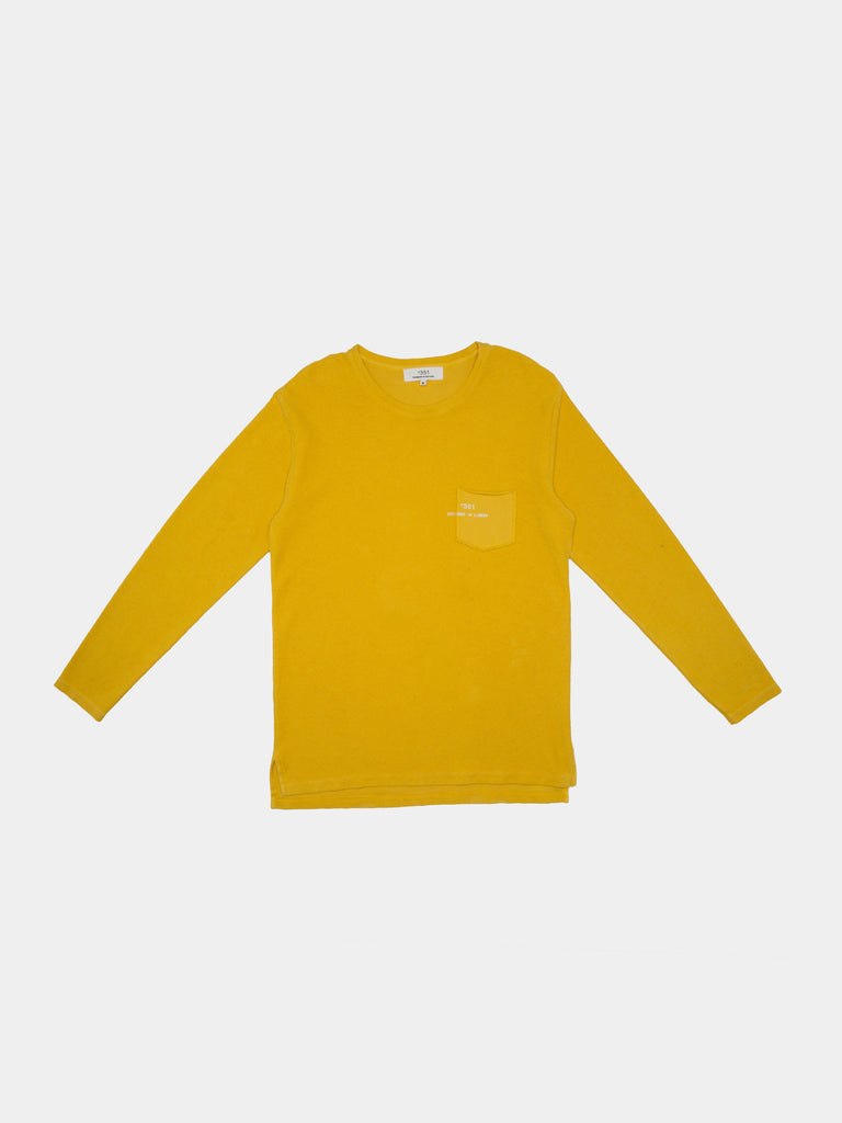 SWEATSHIRT ESSENTIAL STONED YELLOW