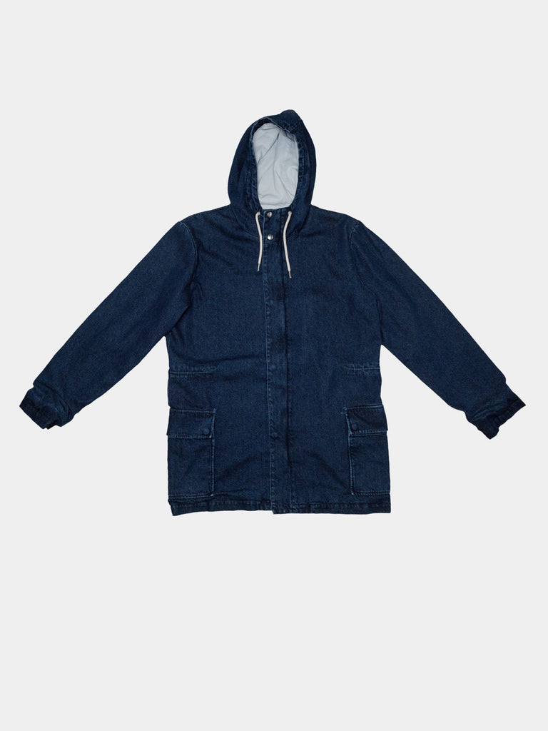 PARKA BLUE DENIM