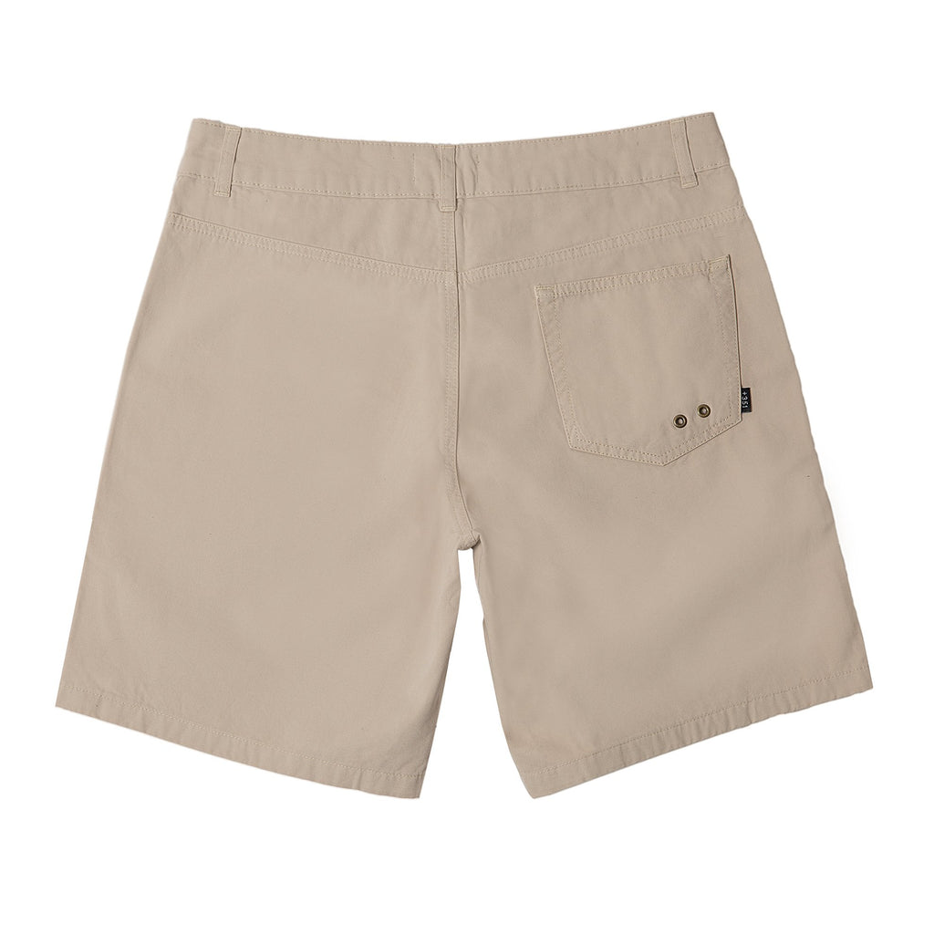 BEIGE LIGHT TWILL WALKSHORTS