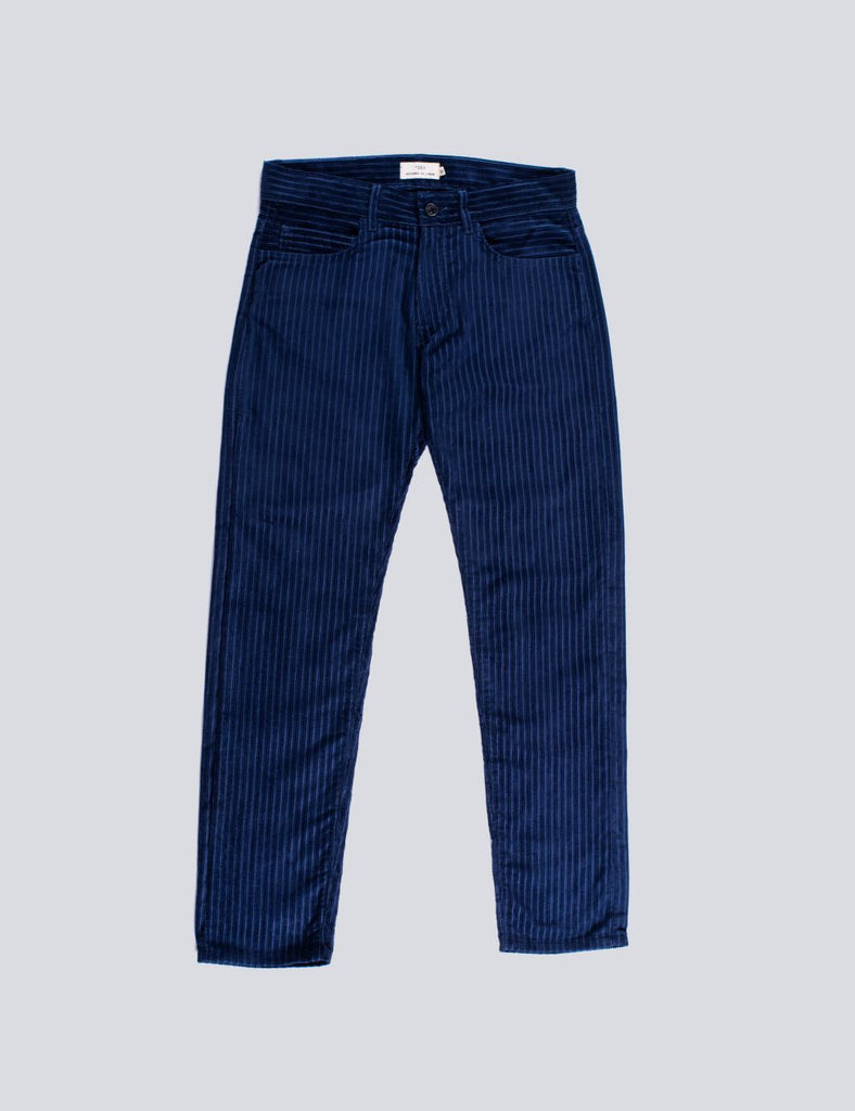 PANTS CORDUROY BLUE
