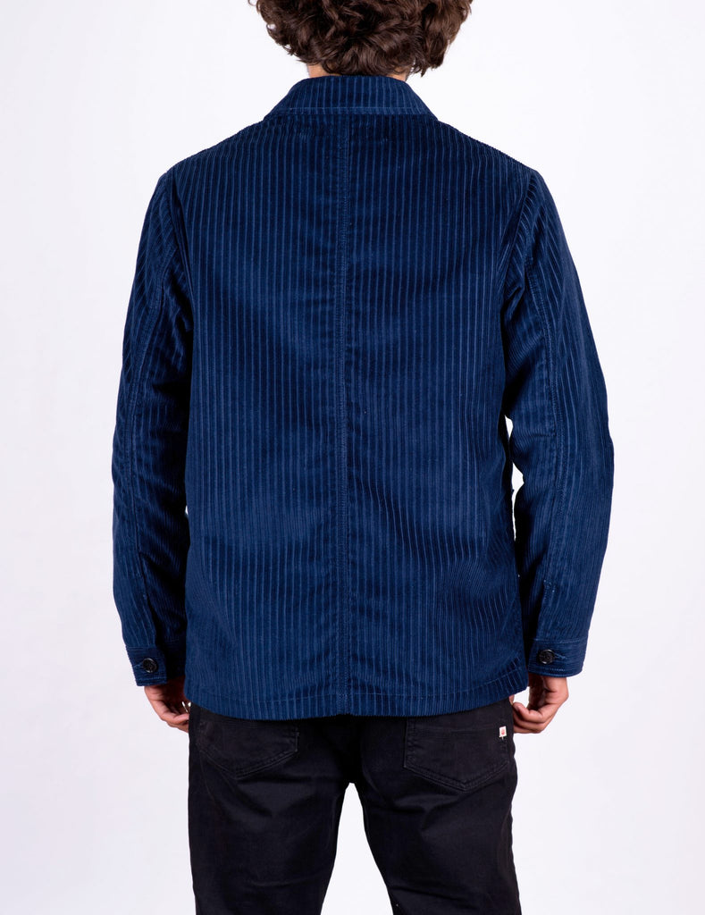 JACKET CORDUROY BLUE