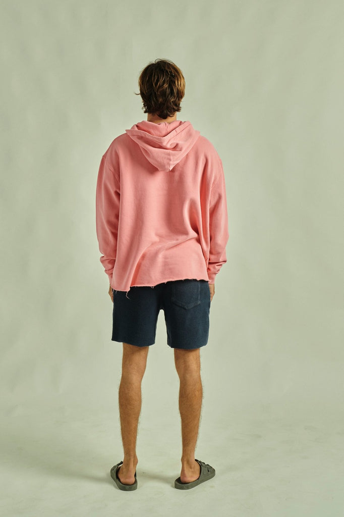 HOODIE FADED CORAL