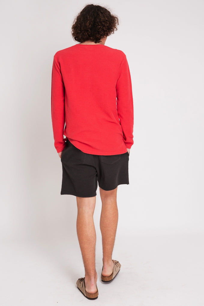 SWEATSHIRT ESSENTIAL CORAL