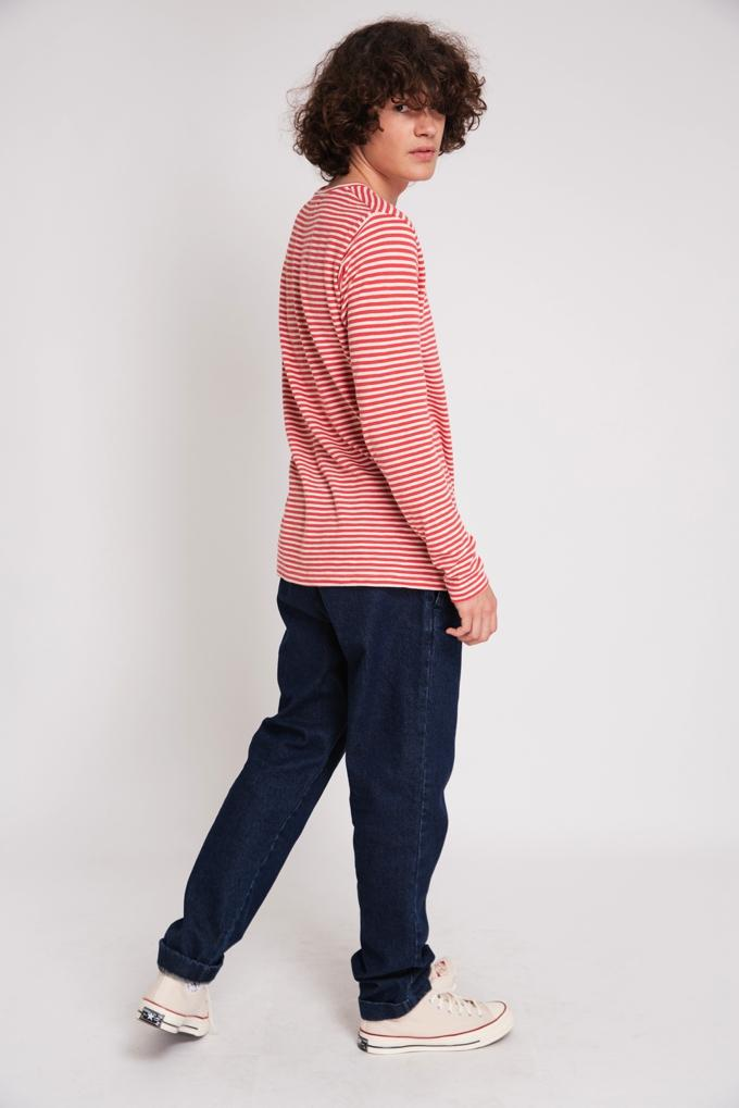 LONG SLEEVE STRIPES CORAL & CRU