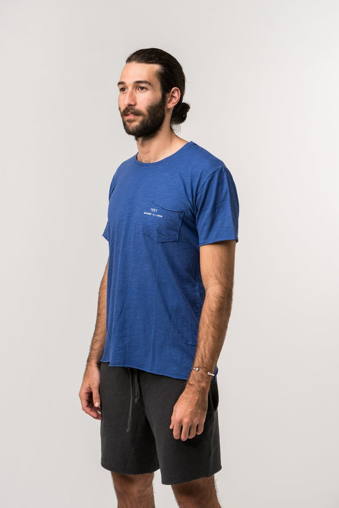 T-SHIRT ESSENTIAL ROYAL BLUE