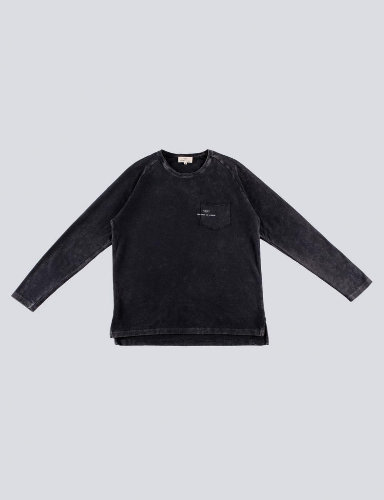 LONG SLEEVE ESSENTIAL VINTAGE BLACK