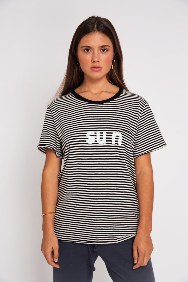 T-SHIRT STRIPES SUN