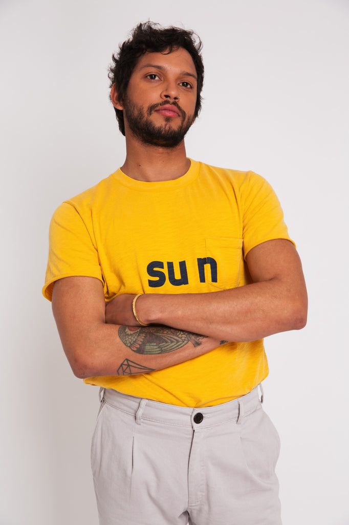 T-SHIRT SUN YELLOW
