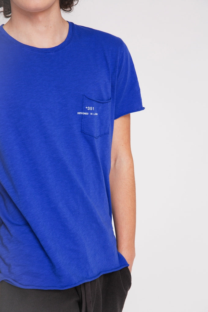T-SHIRT ESSENTIAL BRIGHT BLUE