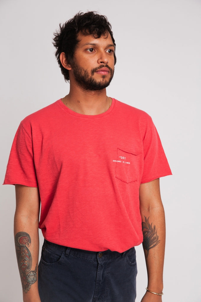 T-SHIRT ESSENTIAL CORAL