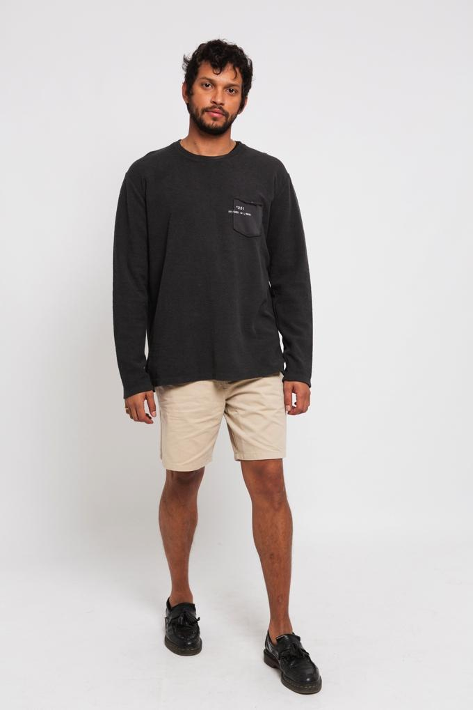 SWEATSHIRT ESSENTIAL CHARCOAL