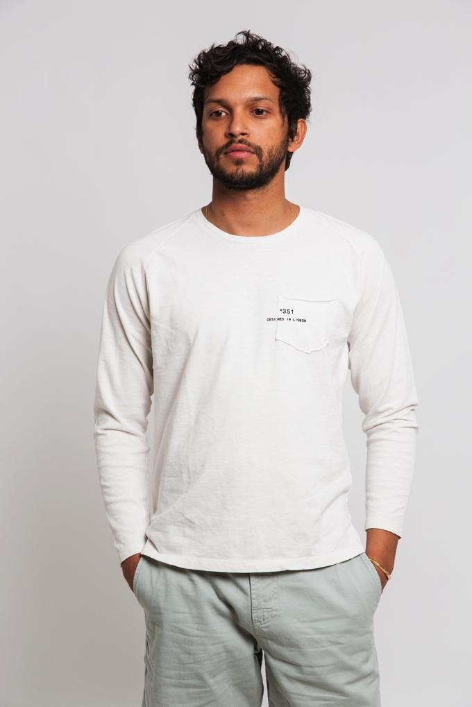 LONG SLEEVE ESSENTIAL OFF-WHITE