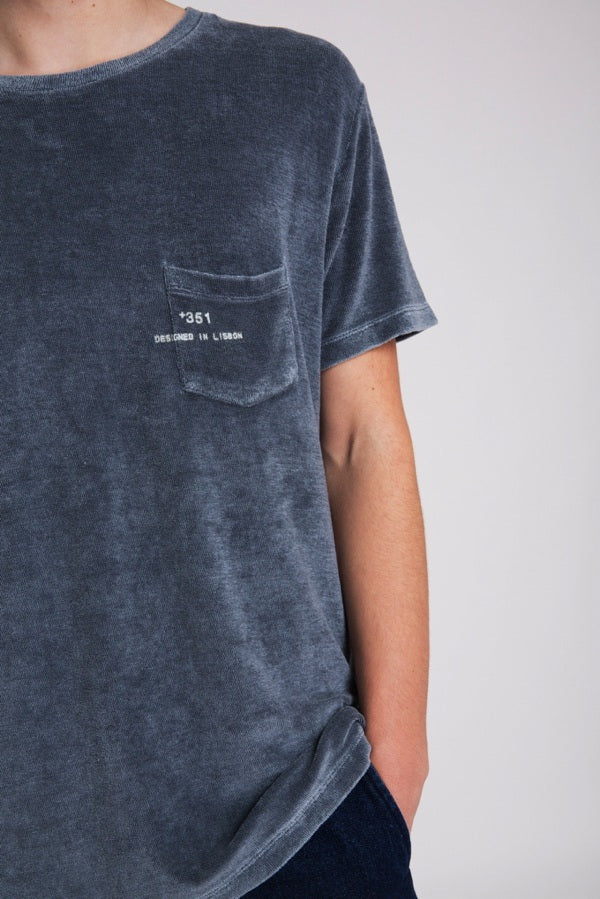 T-SHIRT ESSENTIAL TOWELLING