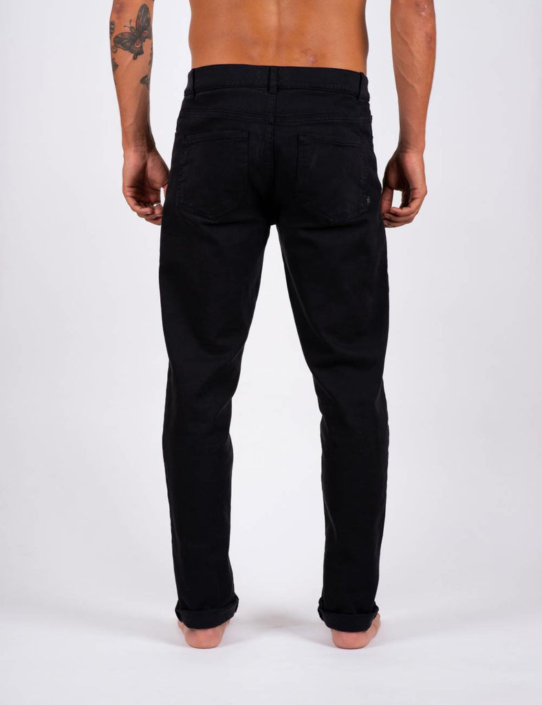 PANTS DENIM BLACK