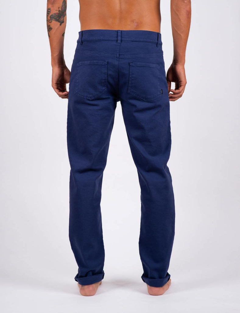 PANTS DENIM BLUE