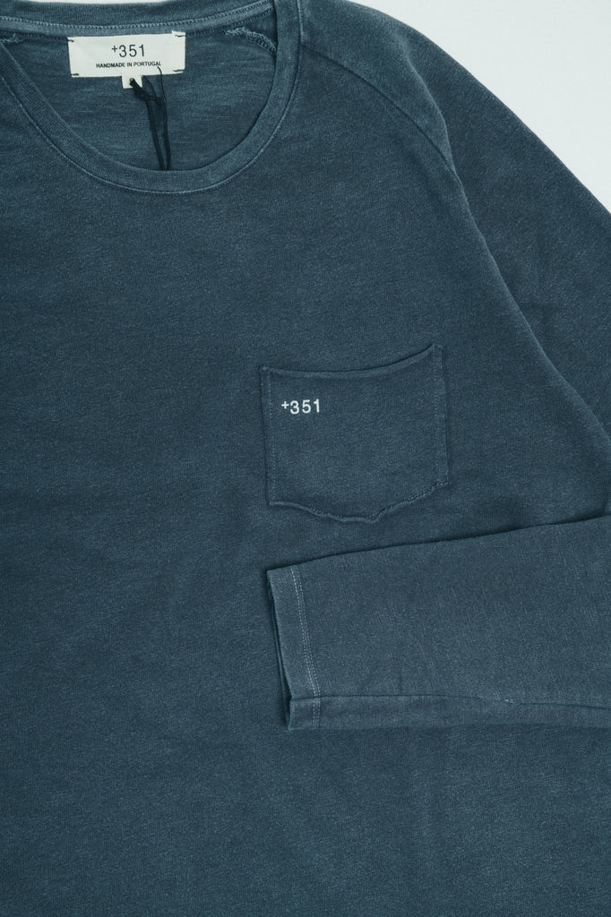 LONG SLEEVE ESSENTIAL GRAPHITE