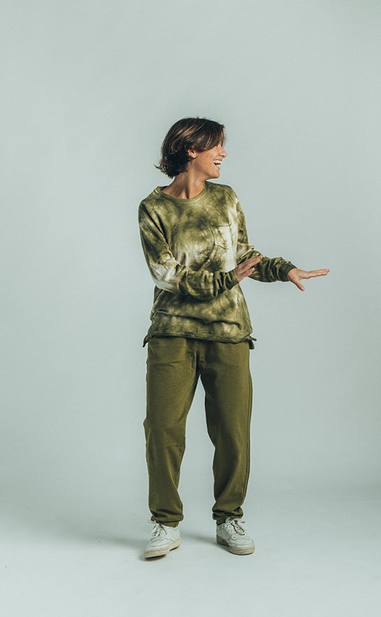 JERSEY SWEATPANTS MILITAR GREEN