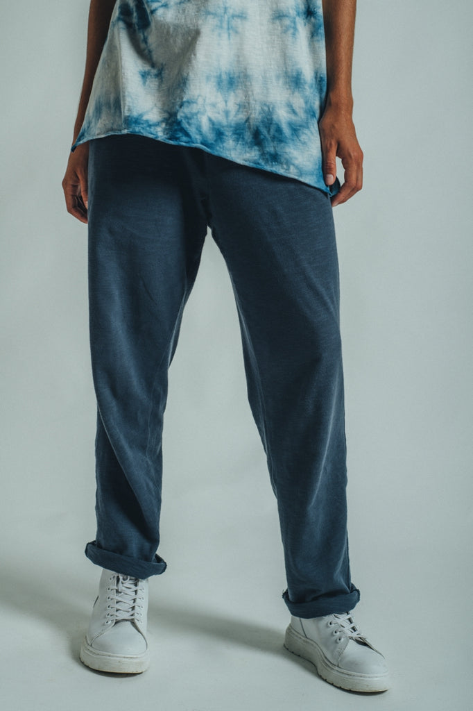 JERSEY SWEATPANTS GRAPHITE