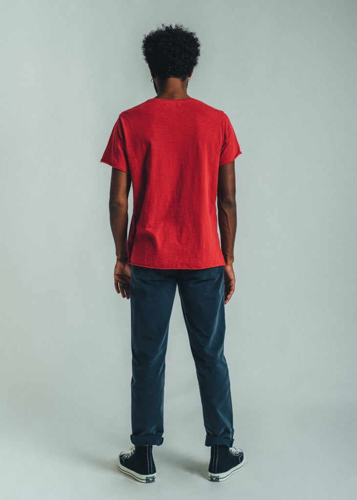T-SHIRT ESSENTIAL BRIGHT RED