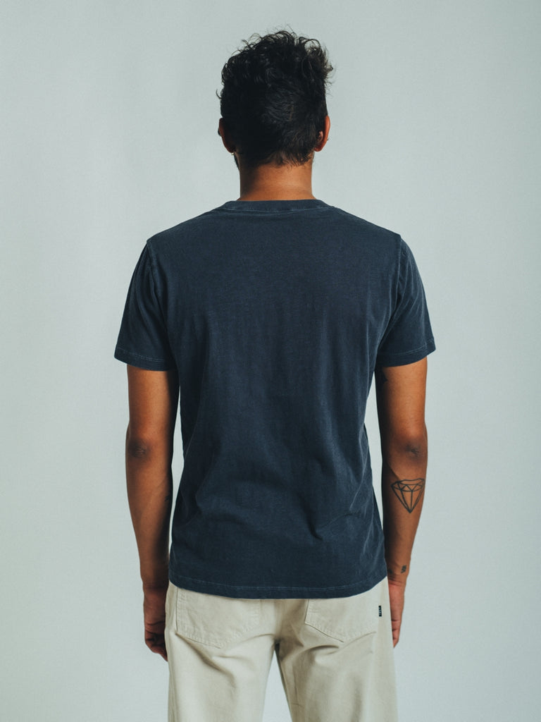 T-SHIRT RIB DOUBLE GRAPHITE