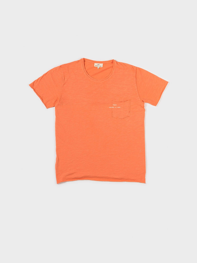 T-SHIRT ESSENTIAL SALMON