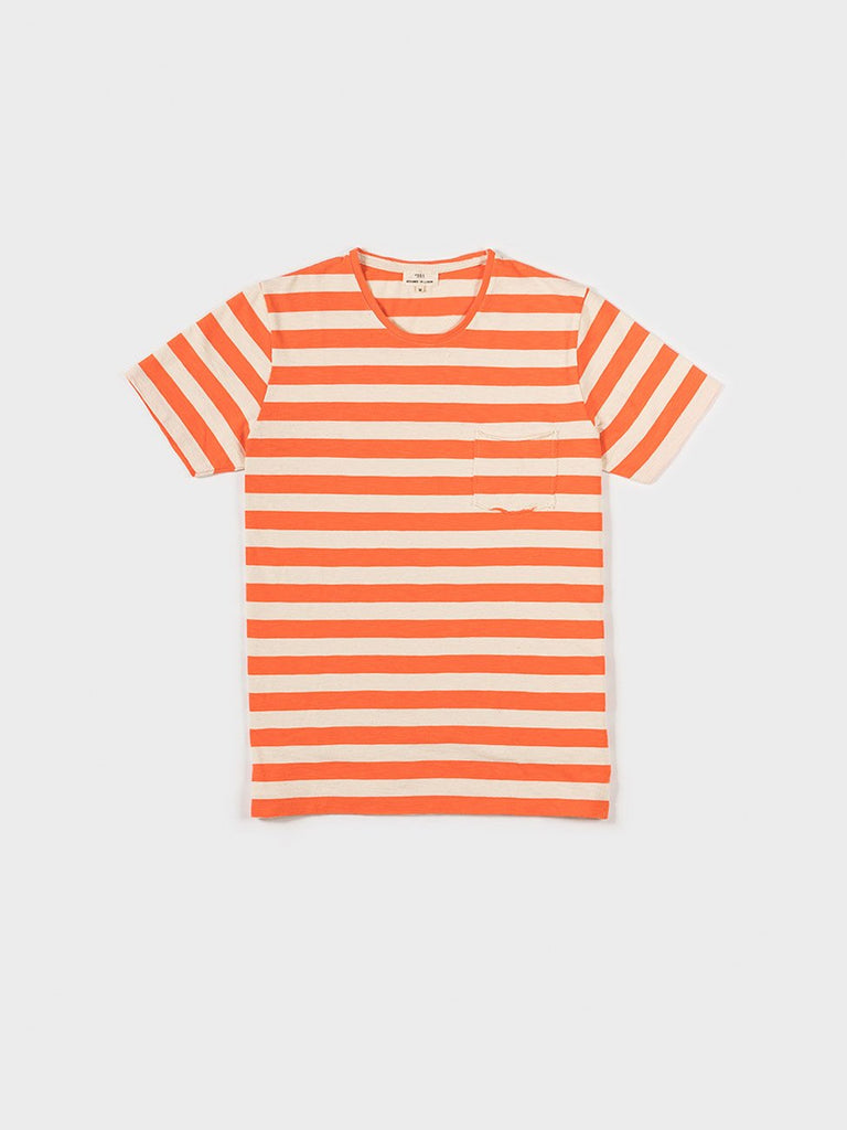 T-SHIRT STRIPED SALMON